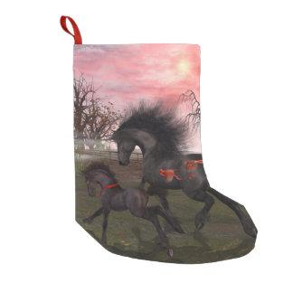 クリスマスの馬のクリスマスのストッキング スモールクリスマスストッキング