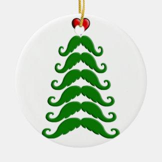 クリスマスの髭の木 セラミックオーナメント