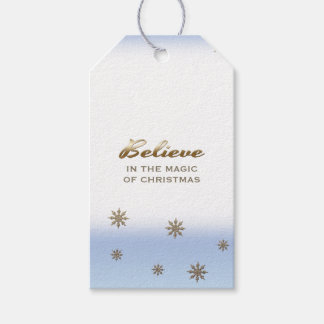 クリスマスの魔法で信じて下さい。 ギフトのラベル ギフトタグ