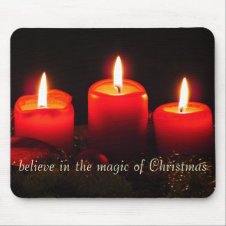 クリスマスの魔法で信じて下さい マウスパッド