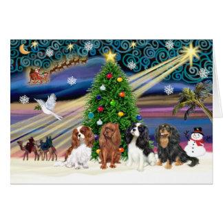 クリスマスの魔法騎士のクォード カード