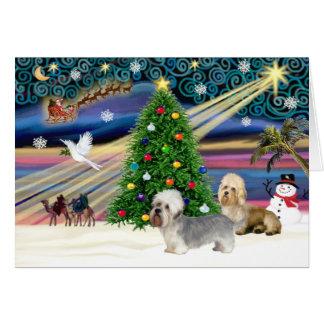 クリスマスの魔法DandieのDinmontの組 カード