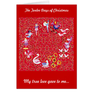 クリスマスの12日 カード
