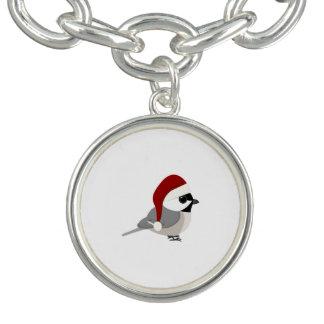クリスマスの《鳥》アメリカゴガラ チャームブレスレット