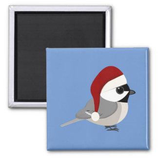 クリスマスの《鳥》アメリカゴガラ マグネット