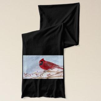 クリスマスの(鳥)ショウジョウコウカンチョウ スカーフ