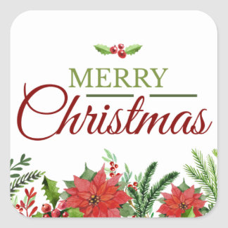 クリスマスのenevelopeのシーラー スクエアシール