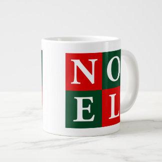 クリスマスのNoelのジャンボマグ ジャンボコーヒーマグカップ