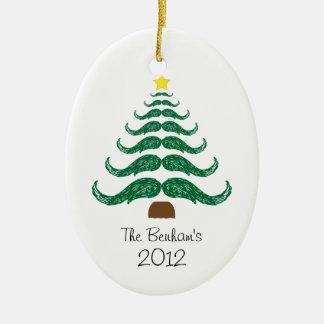 クリスマスのStachesの木 セラミックオーナメント