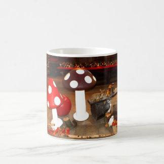 クリスマスのtoadstools コーヒーマグカップ