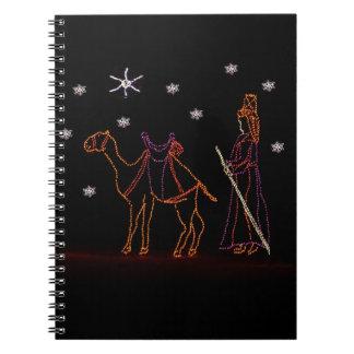クリスマスのWisemanのラクダ1 2016年 ノートブック