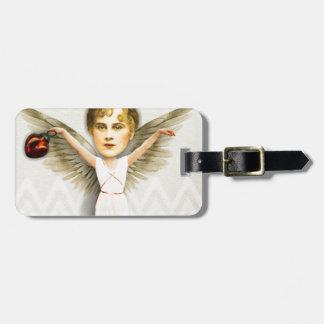 クリスマスのZettiの天使 ラゲッジタグ