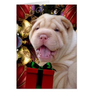 クリスマスは地球に天国を持って来ます カード