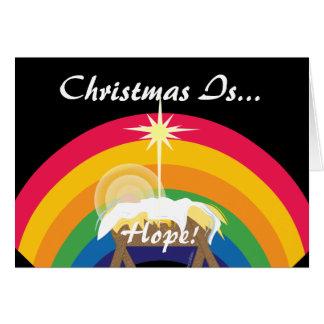 クリスマスは希望です! -カスタマイズ カード