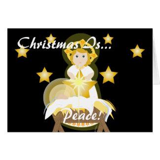 クリスマスは平和です! -カスタマイズ カード