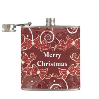 クリスマスは挨拶を曲げます フラスク