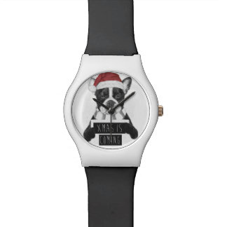 クリスマスは来ています 腕時計