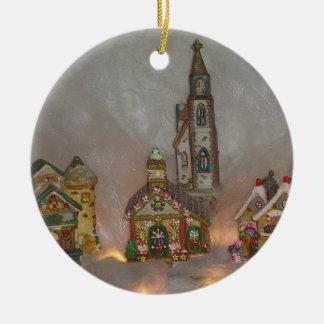 クリスマスは磁器を収納します セラミックオーナメント