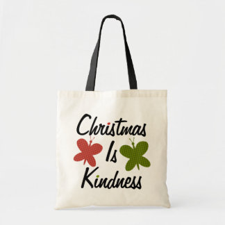 クリスマスは親切さです トートバッグ