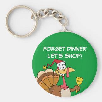 クリスマスへ休暇の季節によって得ること キーホルダー