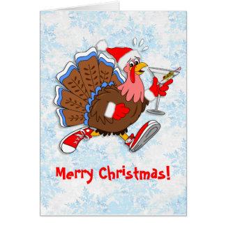 クリスマスよろよろしているトルコ(マルティーニ) カード