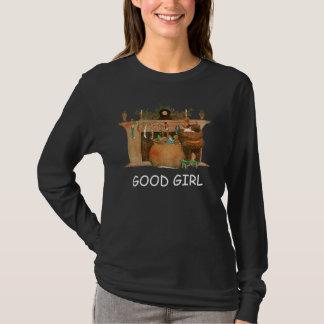 クリスマスイブサンタクロースの暖炉 Tシャツ