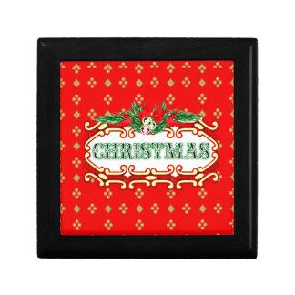 クリスマスカードのギフト用の箱 ギフトボックス