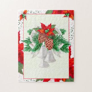 クリスマスカード1の11x14写真のパズル + ギフト用の箱2 ジグソーパズル