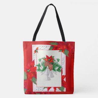 クリスマスカード2のトートのかわいい漫画のトートバック2 トートバッグ