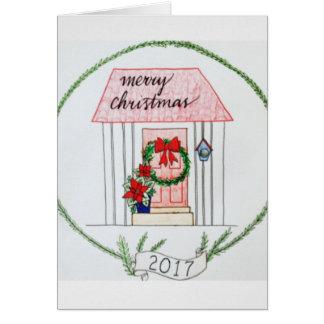 クリスマスカード2017年 カード