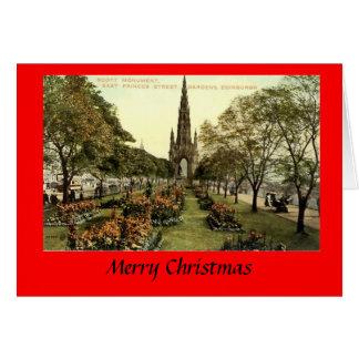 クリスマスカード-、エジンバラStreet王子 カード