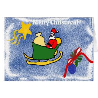 クリスマスカード グリーティングカード