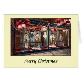 クリスマスカード-フィラデルヒィアの地下鉄 カード