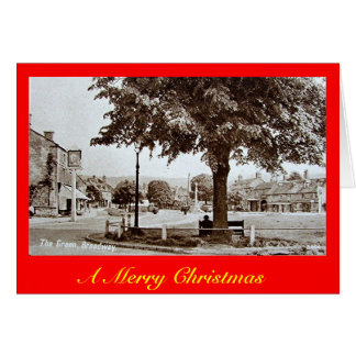 クリスマスカード、ブロードウェイ、ウースターシャー カード