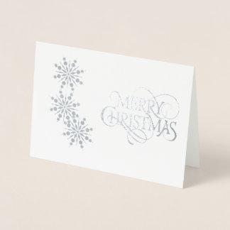 クリスマスカード 箔カード