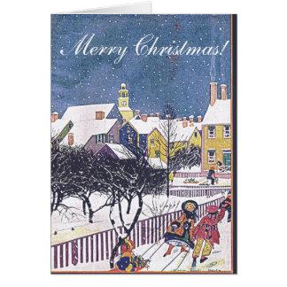 クリスマスカード- 1925年12月の女性の世界カバー カード