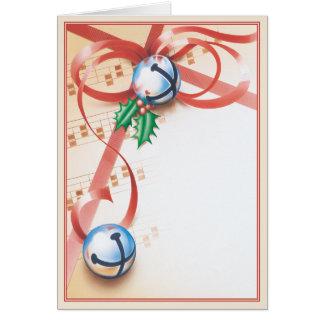 クリスマスキャロルの© グリーティングカード