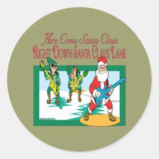 クリスマスキャロルシリーズ ラウンドシール