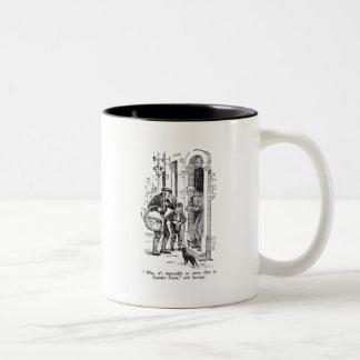 クリスマスキャロル: 、それが不可能なぜであるか ツートーンマグカップ