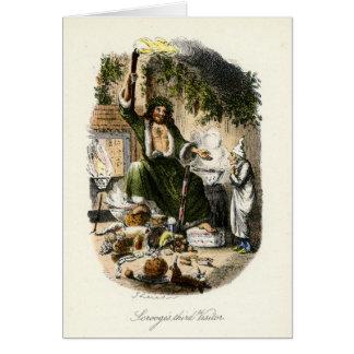 クリスマスキャロル-クリスマスプレゼントの幽霊 カード