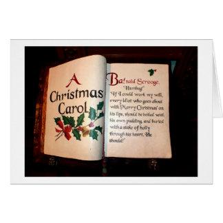 クリスマスキャロル グリーティングカード