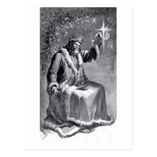 クリスマスキャロル ポストカード