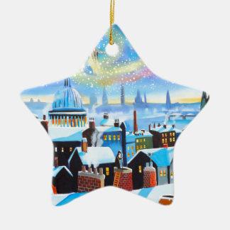 クリスマスキャロルScroogeおよび過去の幽霊 セラミックオーナメント