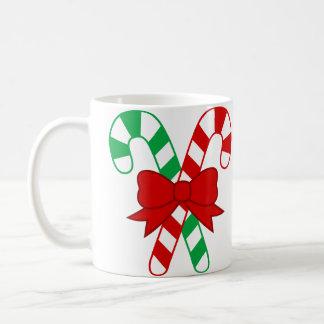 クリスマスキャンデーのマグ コーヒーマグカップ