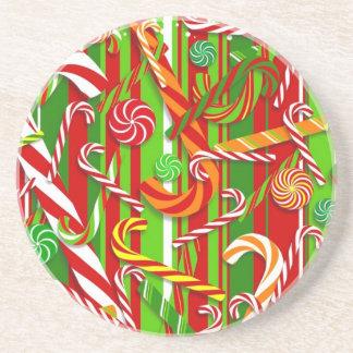 クリスマスキャンデー コースター