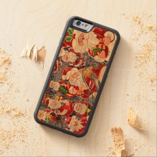 クリスマスサンタクロース CarvedチェリーiPhone 6バンパーケース