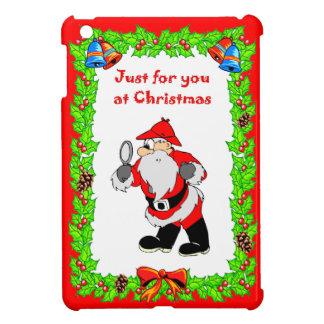 クリスマスサンタSherlock iPad Miniケース