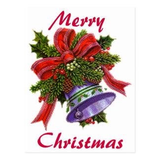 クリスマスシルバーベル ポストカード