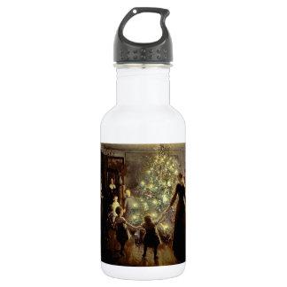 クリスマスツリーのまわり ウォーターボトル