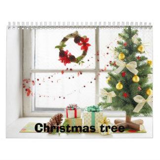 クリスマスツリーのカレンダー カレンダー